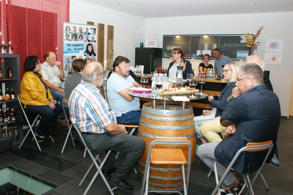 18. September: Genuss und Wein bei Weinbau Baumgartner in Tegerfelden